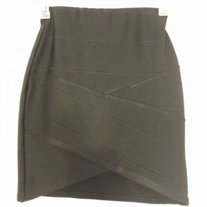 Missguided Black Mini Skirt (matching top listed)